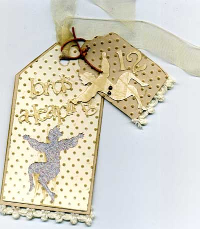 lords a leaping vintage white tag