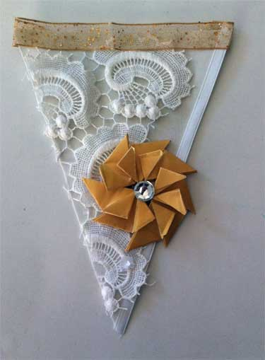 pennant with holiday theme